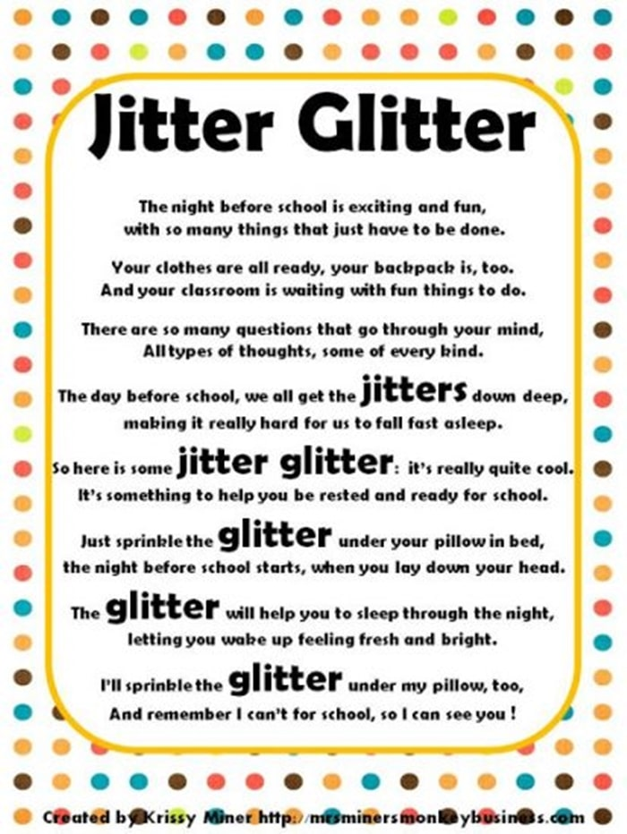 Massif image for jitter glitter poem printable