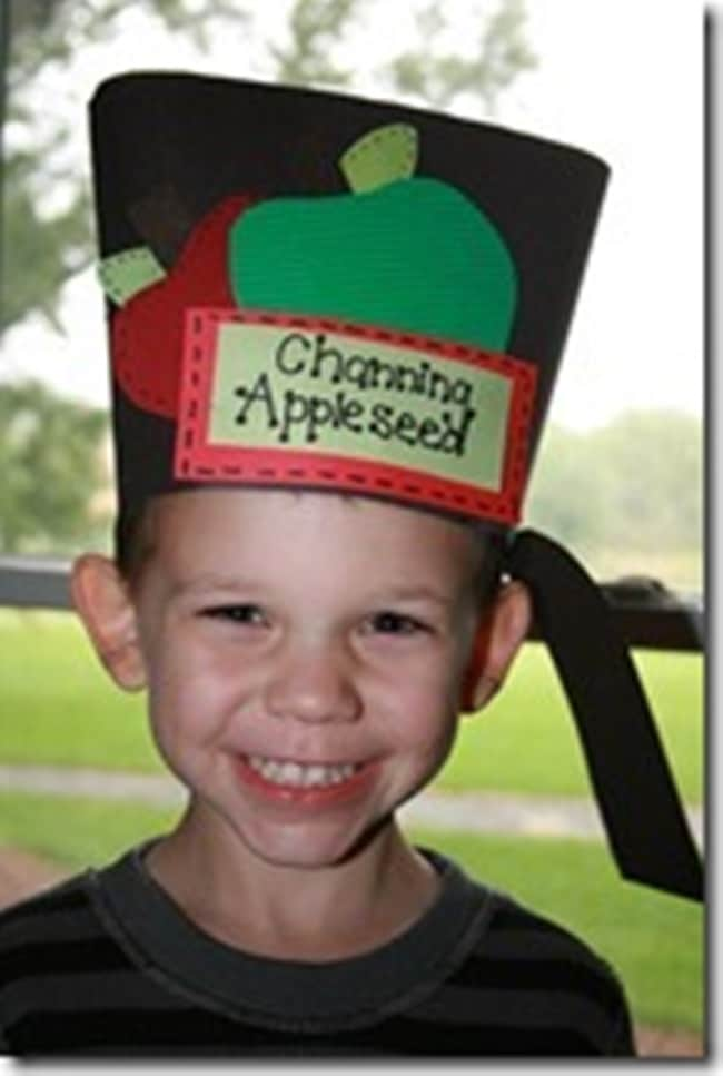 Johnny Appleseed Pot Hat