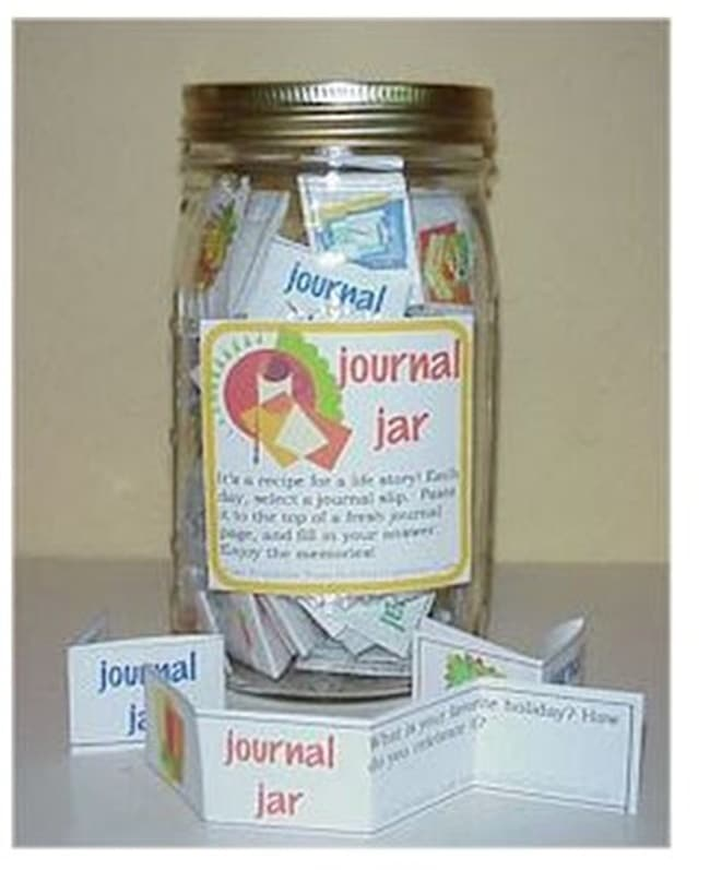 10 Helpful Writing Prompts and Anchor Charts - Journal Jar - Teach Junkie