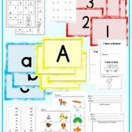 Emergency Substitute Teacher Lesson Plans: Kindergarten