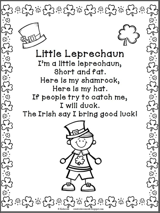 29 Zany St. Patrick's Day Learning Resources - Little Leprechaun - Teach Junkie