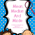 Mean Median Mode Free Lesson