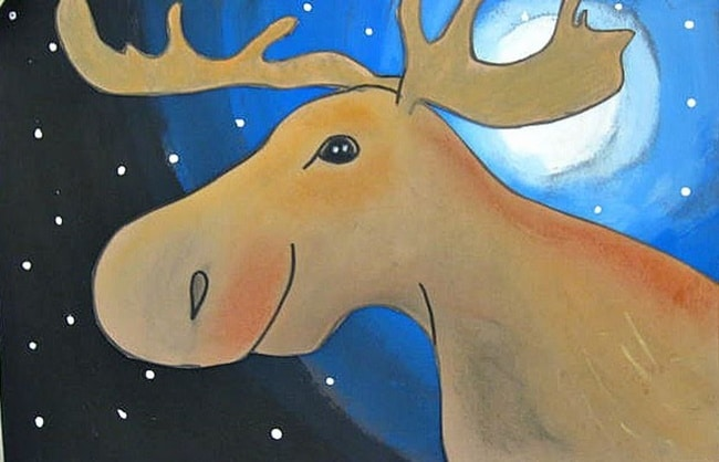 What Good is a Moose Art Project - Teach Junkie