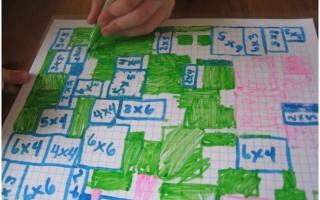 No Prep Multiplication Grid Game - Teach Junkie
