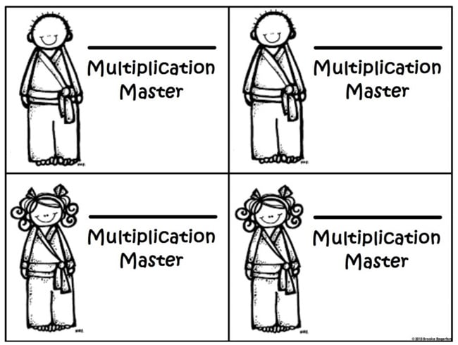 14 Easy Multiplication Charts and Tips - Multiplication Masters - Teach Junkie