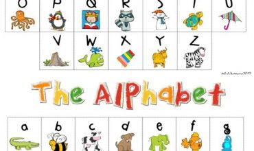 My Kindergarten Daily Schedule and a Free Alphabet Chart