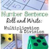 Free Multiplication and Division Activity