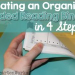 Get Organized! Guided Reading Binder in 4 Steps