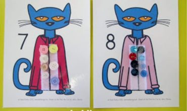 Pete the Cat Matching Sets: Counting Mats