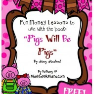 "Free Money Lessons to Use With ""Pigs Will Be Pigs"""