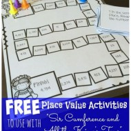 "Place Value Activities ""Sir Cumference and All the King's Tens"""