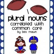 Free Common Plural Nouns Worksheet