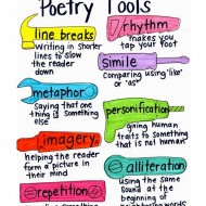 Poetry Tools Visual Anchor Chart