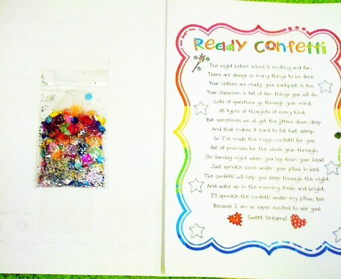 Ready Confetti and Birthday Bubbles