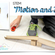 Force and Motion Experiment with Free Printable