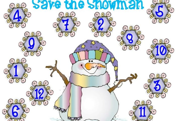 Save the Snowman – 2 Winter Math Freebies