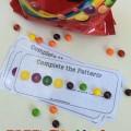 Free Skittles Pattern Cards - Teach Junkie