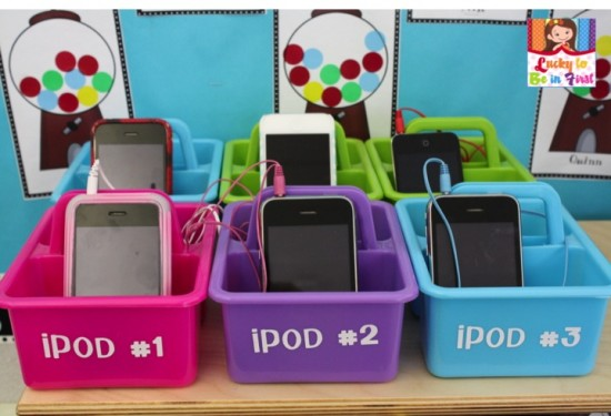 Using iPods as Listening Centers