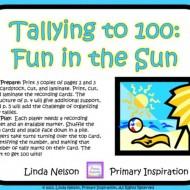 Tally Marks to 100 Game {Printable}