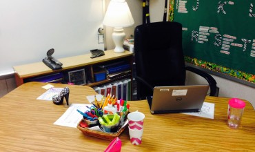 Teacher Desk vs. Teacher Space