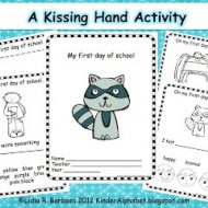 The Kissing Hand – Free Activity Booklet