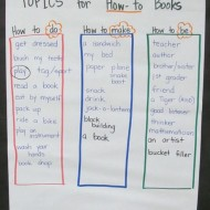 "Lesson Plan: Brainstorming ""How To"" Books Topics"