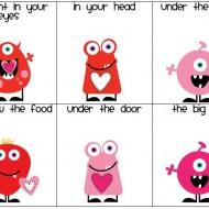 Valentine Fry Fluency Phrases