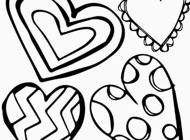 Valentine's Day Writing Paper Templates and Coloring Pages