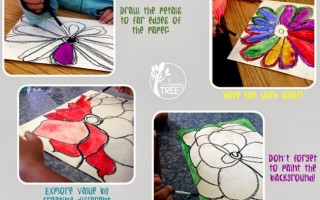 Easy and Stunning Wildflower Art in 30 Minutes - Teach Junkie