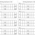 Writing Numbers to120 Free Worksheets - Teach Junkie