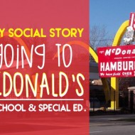 Easy Social Story: Going to McDonald's