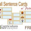 Fall Sentences Pocket Chart Match Up - Teach Junkie