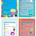 Creating Rules for Group Work {Printable}