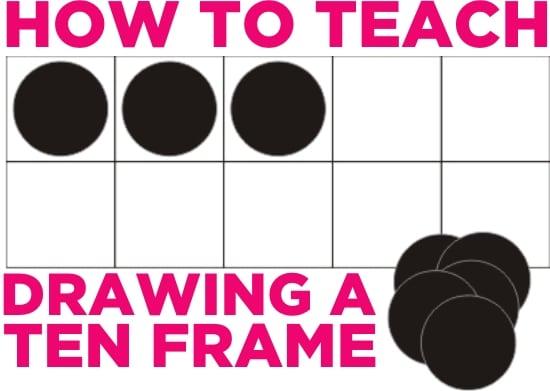 Teach Junkie: How to Teach Drawing a Ten Frame