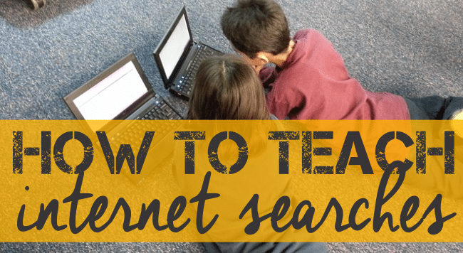 How To Teach Safe Internet Searches in the Classroom - Teach Junkie