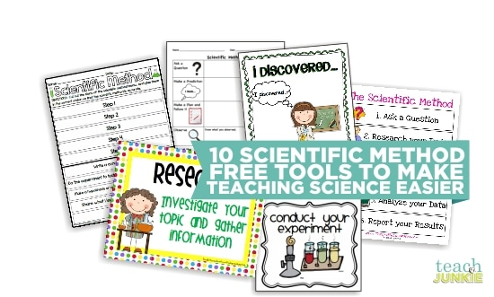 Printables Scientific Method Worksheet Elementary 10 scientific method tools to make science easier teach junkie teaching easier