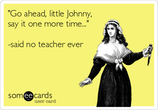 Teach Junkie - 60 Hilarious and True Teacher Confessions